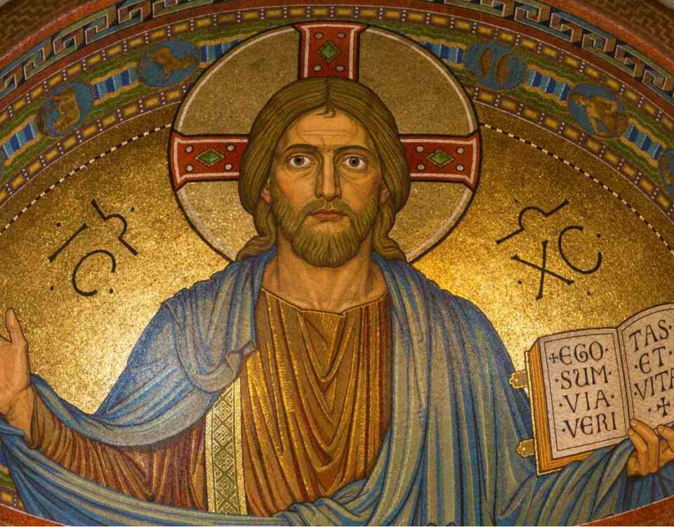 Ikona z Jezusem Chrystusem
