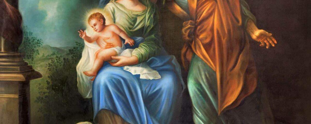 Maryja, Józef i dzieciątko